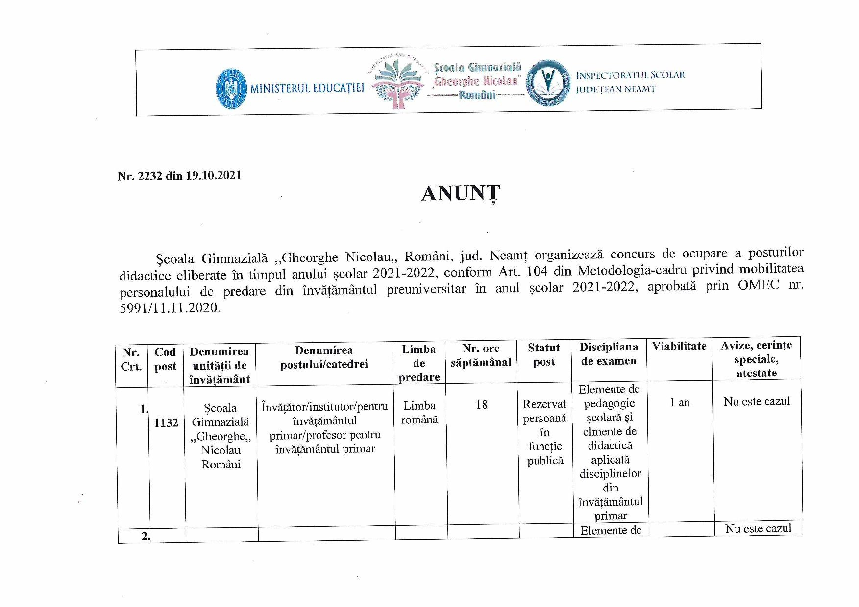 CALENDAR ȘI ANUNȚ CONCURS POSTURI VACANTE-SC. ROMÂNI-page-003